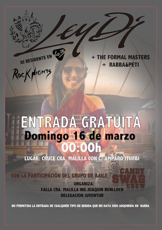 Fallas 2014 DJ LEY DI 16 Marzo
