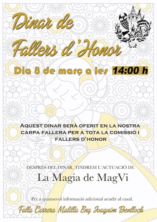 FALLEROS DE HONOR 2015