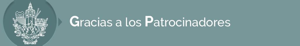 títulos PATROCINADORES