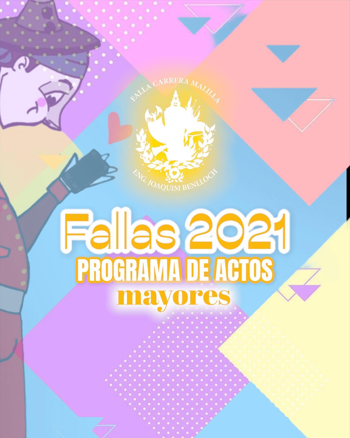 Actos Mayores Fallas 2021