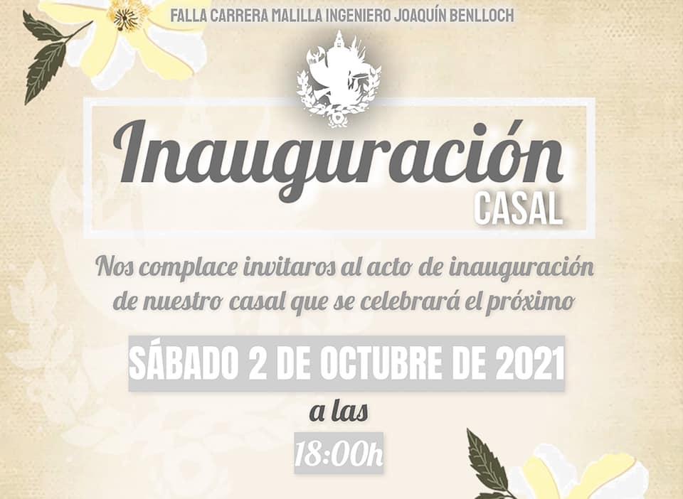 Inauguracion Casal