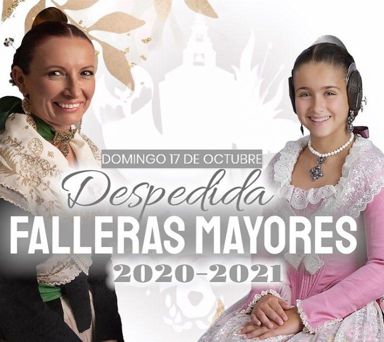 Despedida Falleras Mayores 2020 – 2021